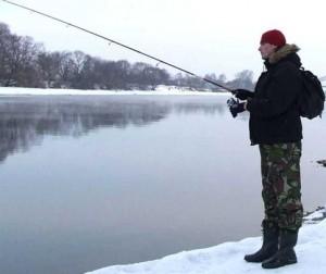 зимняя рыбалка по открытой воде