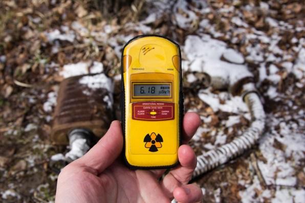 Чернобыльский дозиметр излучения