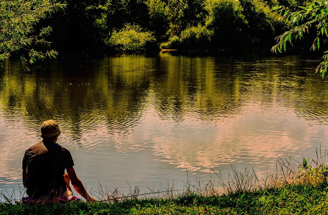 summer fishing photo