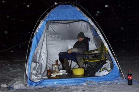 размер зимней палатки