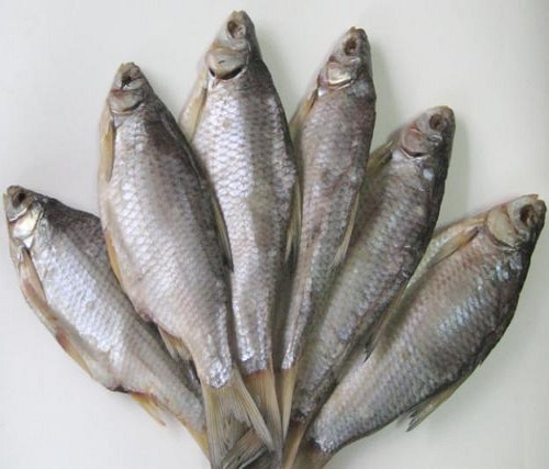 солено-сушеная рыба