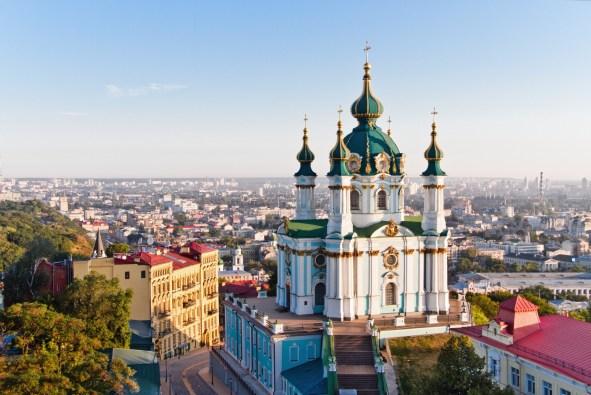 Андреевская церковь Киев